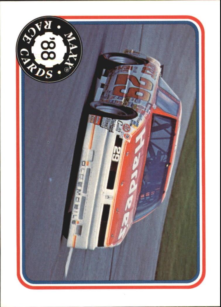 1988 Maxx Charlotte #4 Cale Yarborough's Car