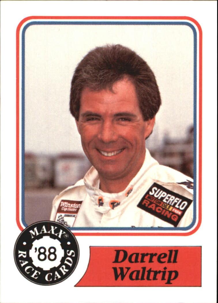 1988 Maxx Charlotte #10 Darrell Waltrip RC