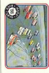 1988 Maxx Charlotte #13 Alabama Thunder/with Dale Earnhardt's Car