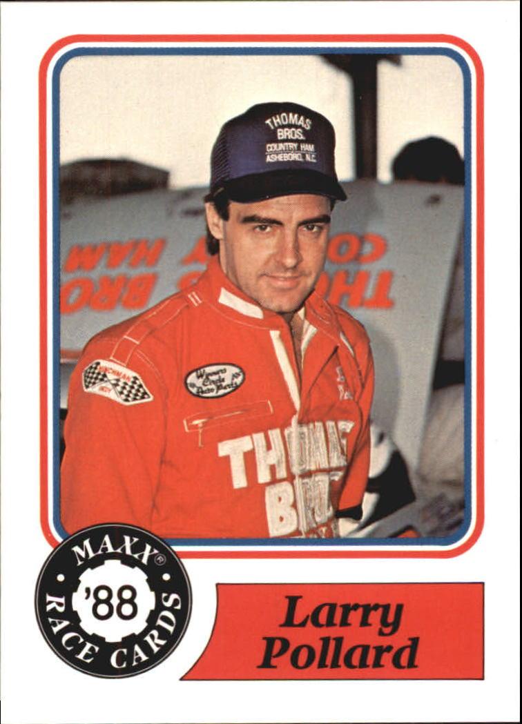 1988 Maxx Charlotte #16 Larry Pollard RC
