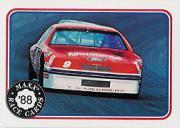1988 Maxx Charlotte #22 Bill Elliott's Car