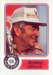 1988 Maxx Charlotte #30 Bobby Allison RC