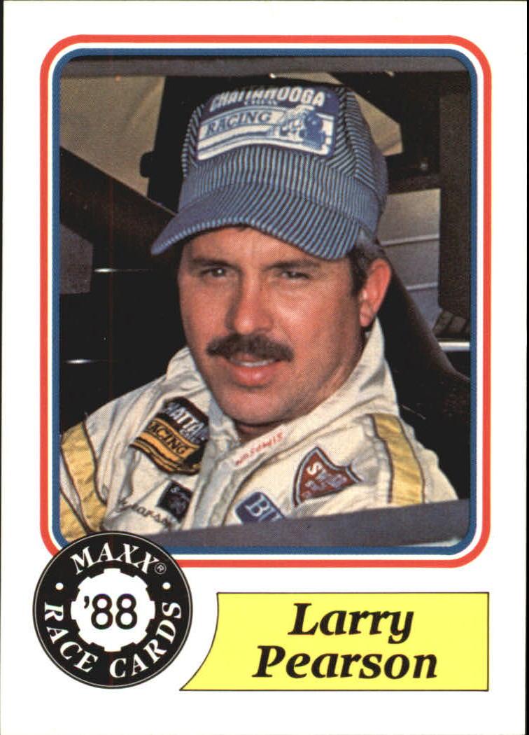1988 Maxx Charlotte #37 Larry Pearson RC