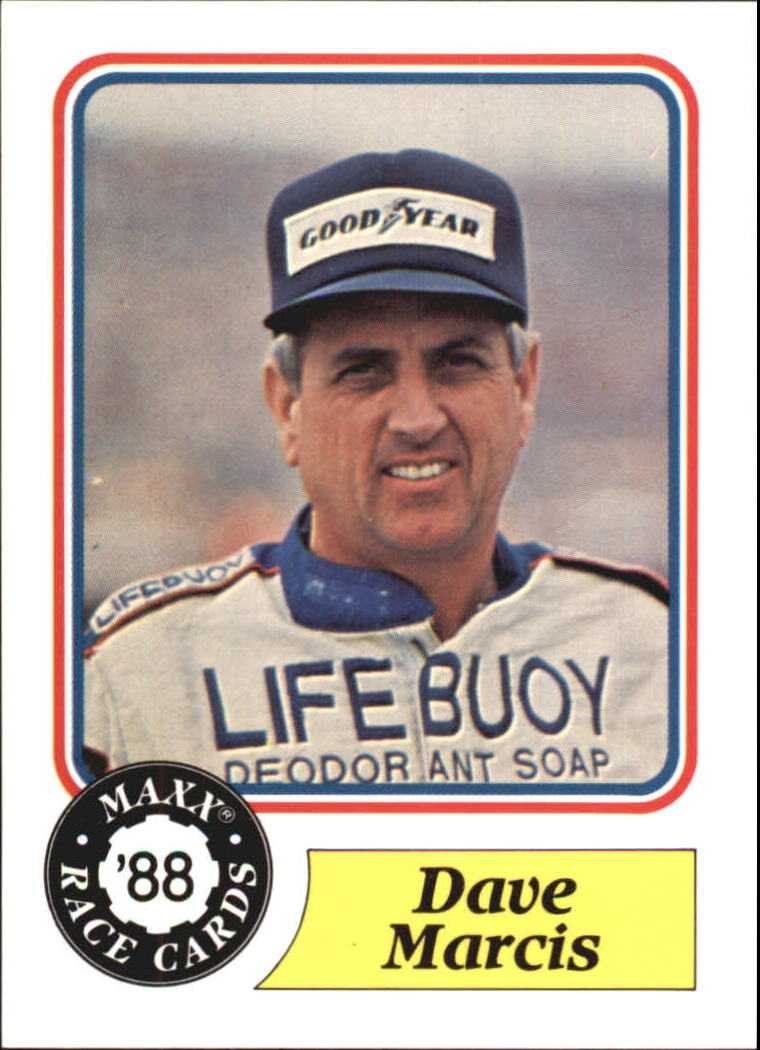1988 Maxx Charlotte #44 Dave Marcis RC