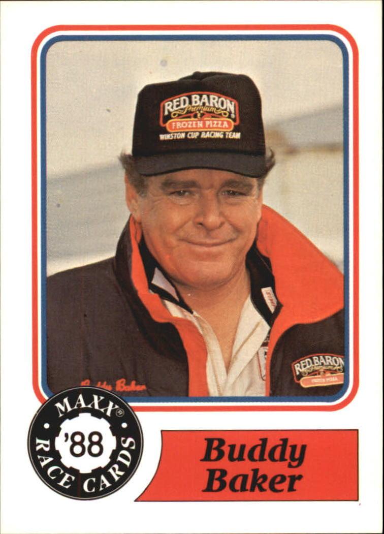 1988 Maxx Charlotte #55 Buddy Baker RC