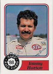 1988 Maxx Charlotte #66 Jimmy Horton RC