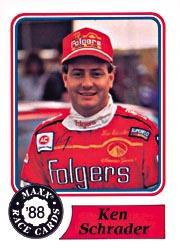 1988 Maxx Charlotte #74 Ken Schrader RC