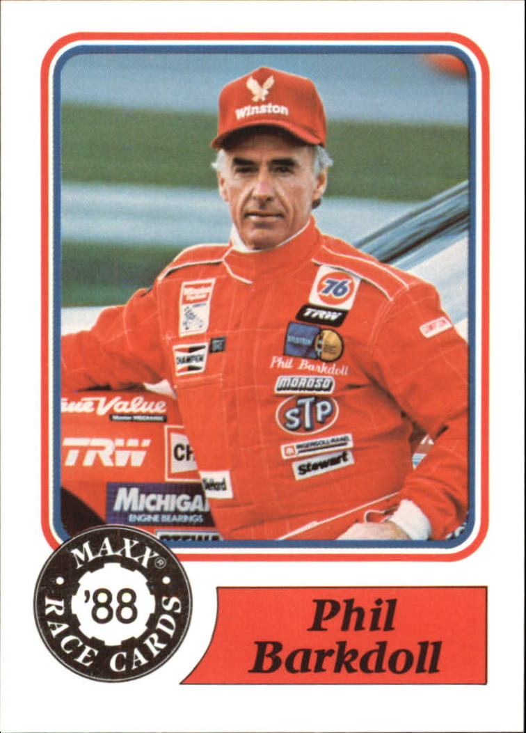 1988 Maxx Charlotte #78 Phil Barkdoll RC