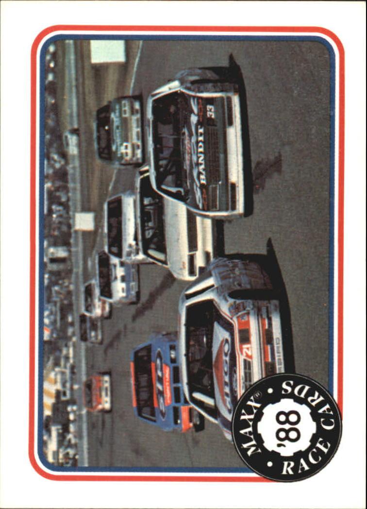 1988 Maxx Charlotte #82 Riverside International/with Richard Petty's Car