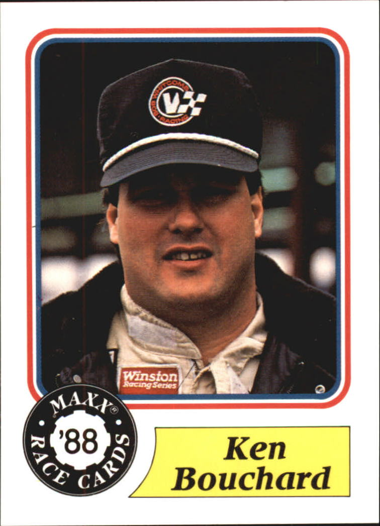 1988 Maxx Charlotte #88 Ken Bouchard RC/mentions Ken being married