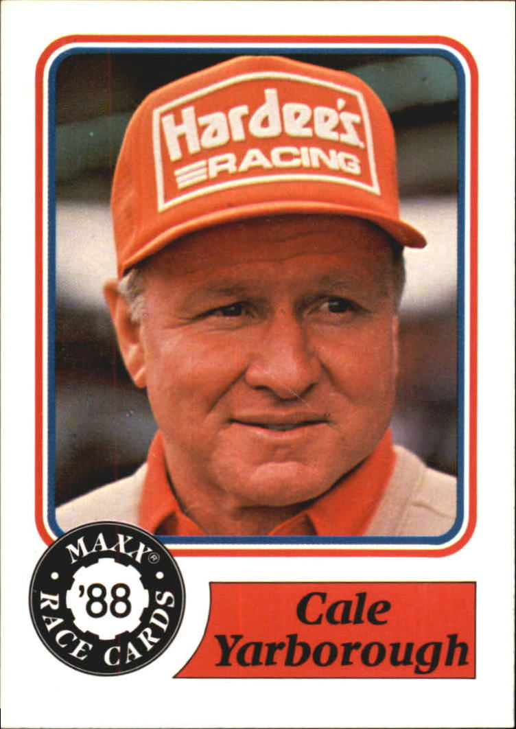 1988 Maxx Charlotte #90 Cale Yarborough RC