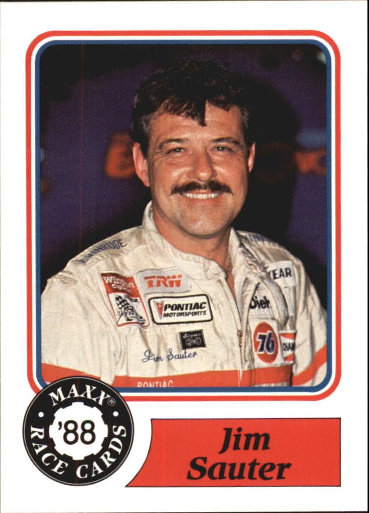 1988 Maxx Charlotte #93 Jim Sauter RC