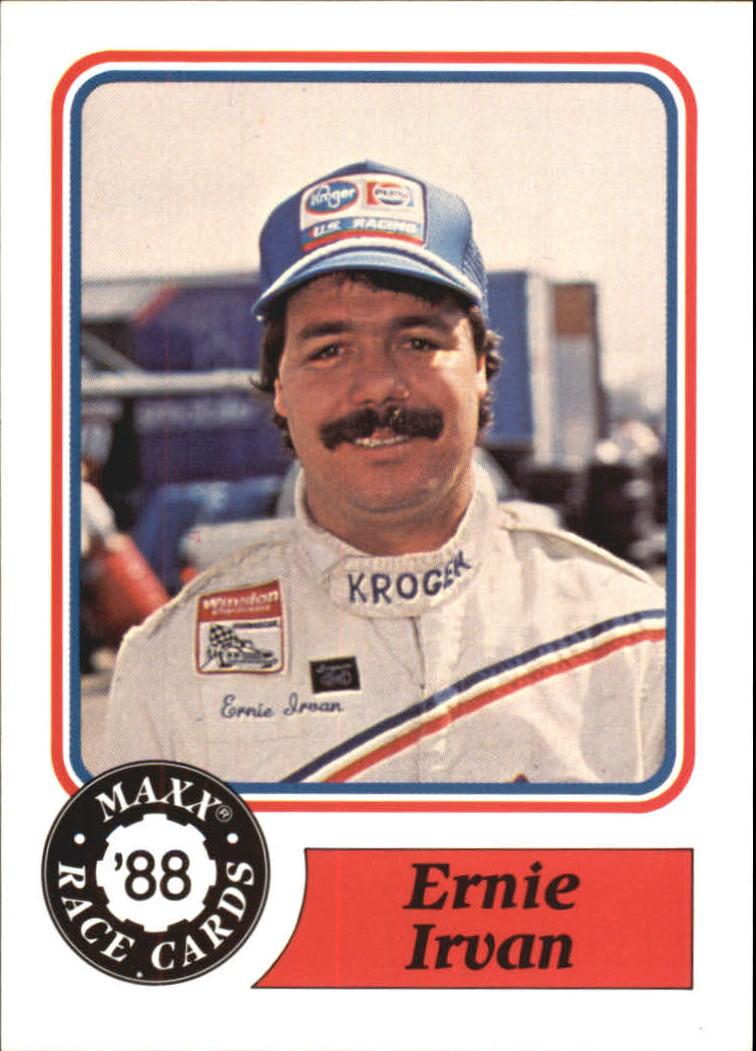 1988 Maxx Charlotte #95 Ernie Irvan RC