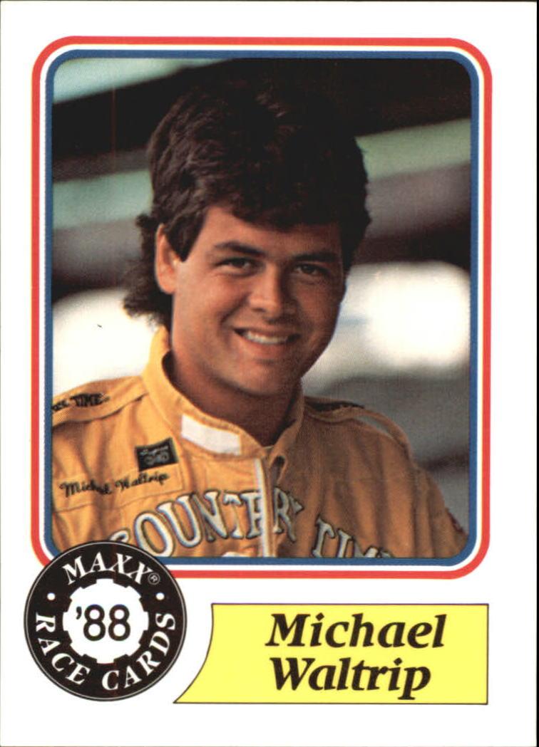1988 Maxx Charlotte #98 Michael Waltrip RC