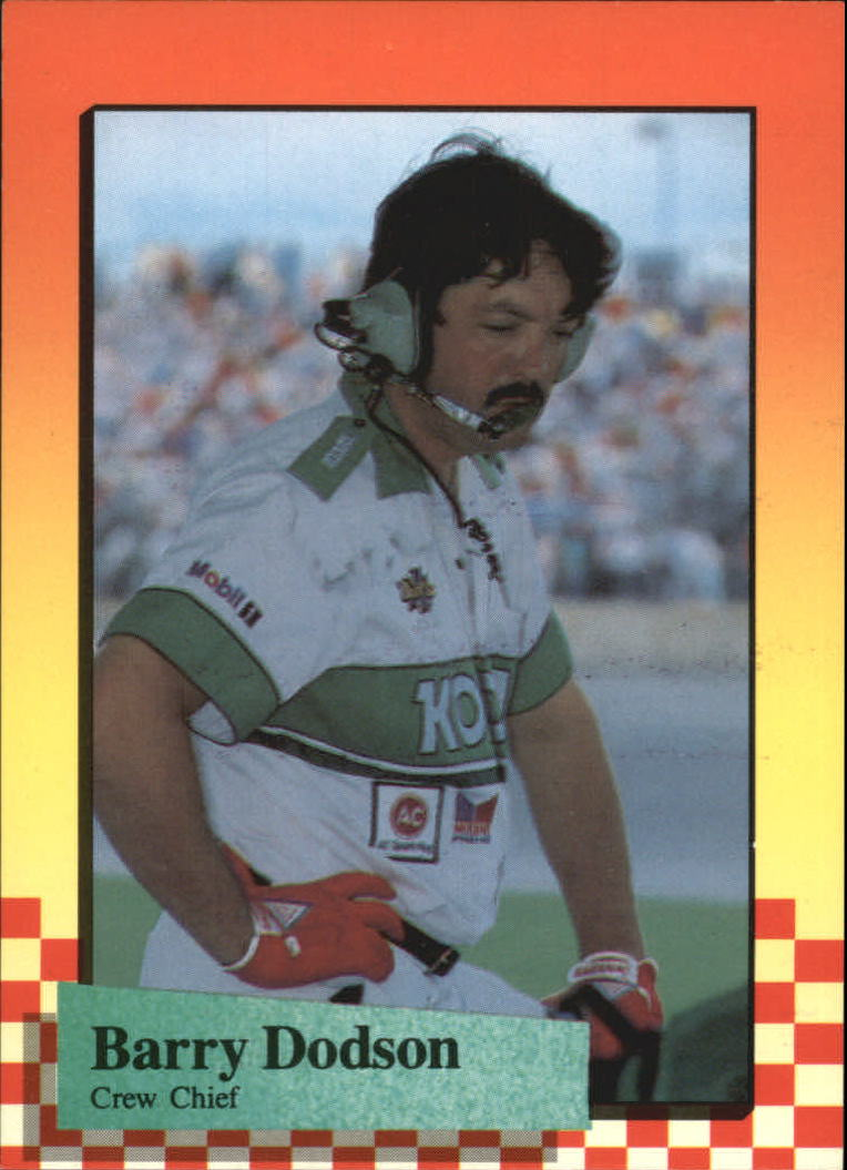 1989 Maxx #18 Barry Dodson RC