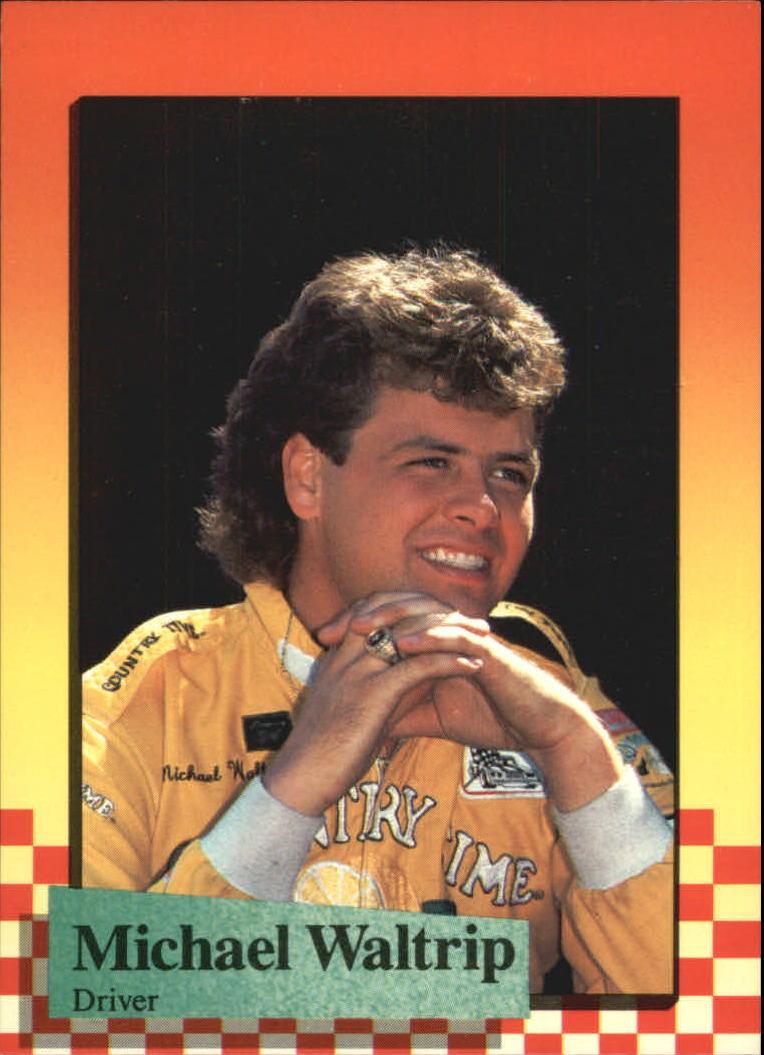1989 Maxx #30 Michael Waltrip