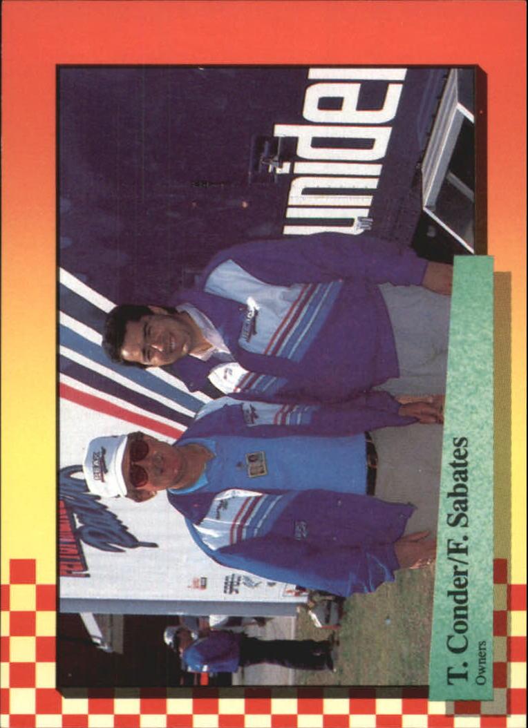 1989 Maxx #39 Ted Conder/Felix Sabates RC