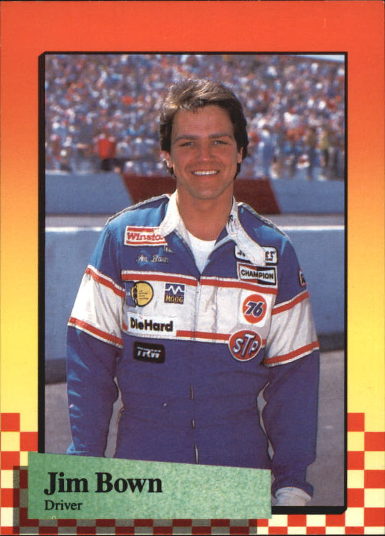 1989 Maxx #41 Jim Bown RC