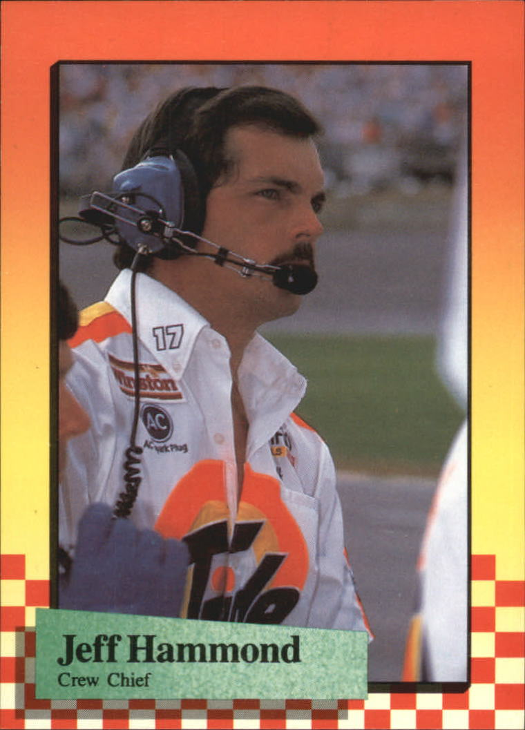 1989 Maxx #44 Jeff Hammond RC