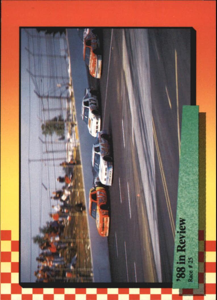 1989 Maxx #125 Darrell Waltrip's Car/Sterling Marlin's Car/Bill Elliott's Car/Rusty Wallace's Car/Year in Review
