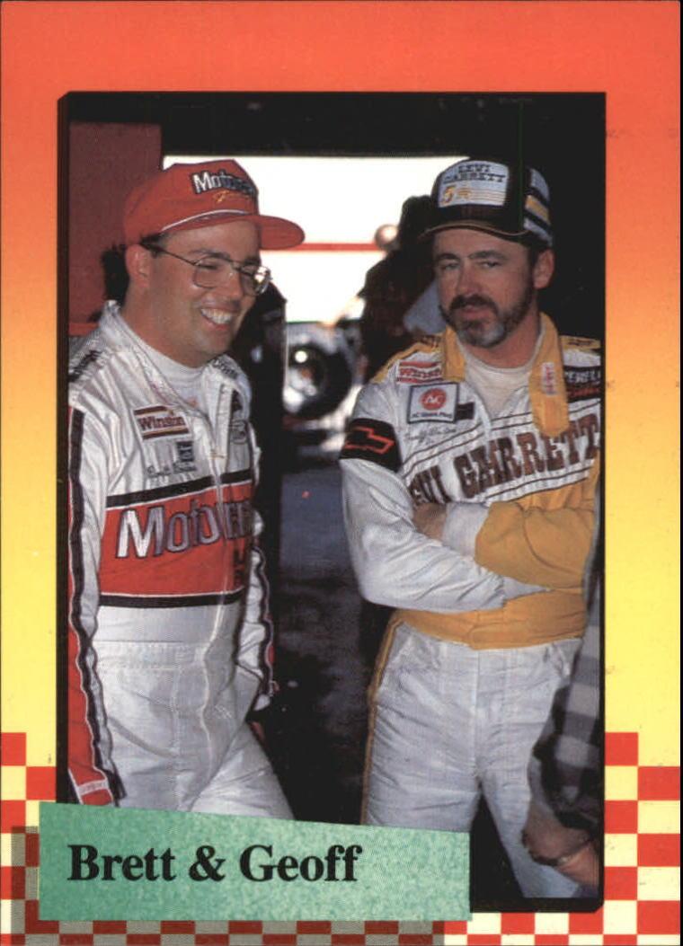 1989 Maxx #202 Brett Bodine/Geoff Bodine