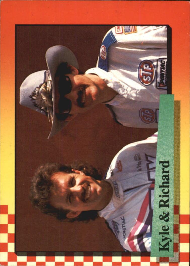 1989 Maxx #220 Richard Petty/Kyle Petty