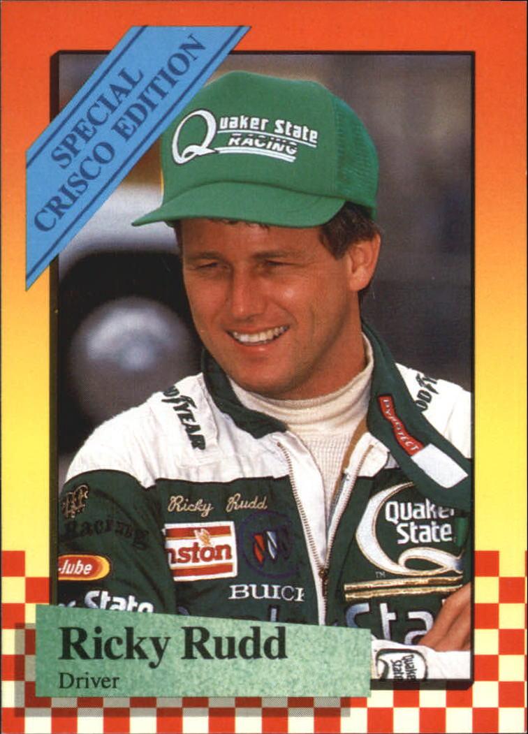 1989 Maxx Crisco #11 Ricky Rudd