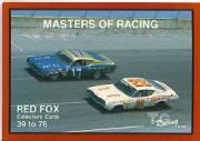 1989-90 TG Racing Masters of Racing #27 David Pearson's Car/Junior Johnson's Car/Ned Jarrett's Car/Marvin Panch's Car/Fireball Roberts' Car/256 Wins