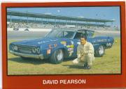 1989-90 TG Racing Masters of Racing #41 David Pearson w/car