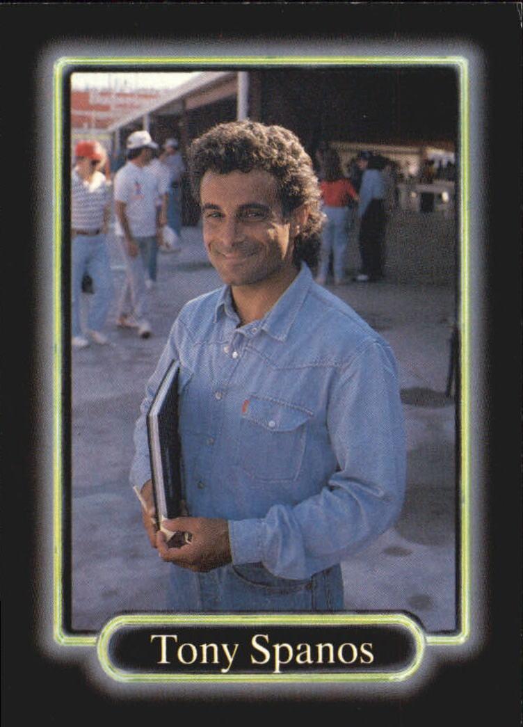 1990 Maxx #49 Tony Spanos RC