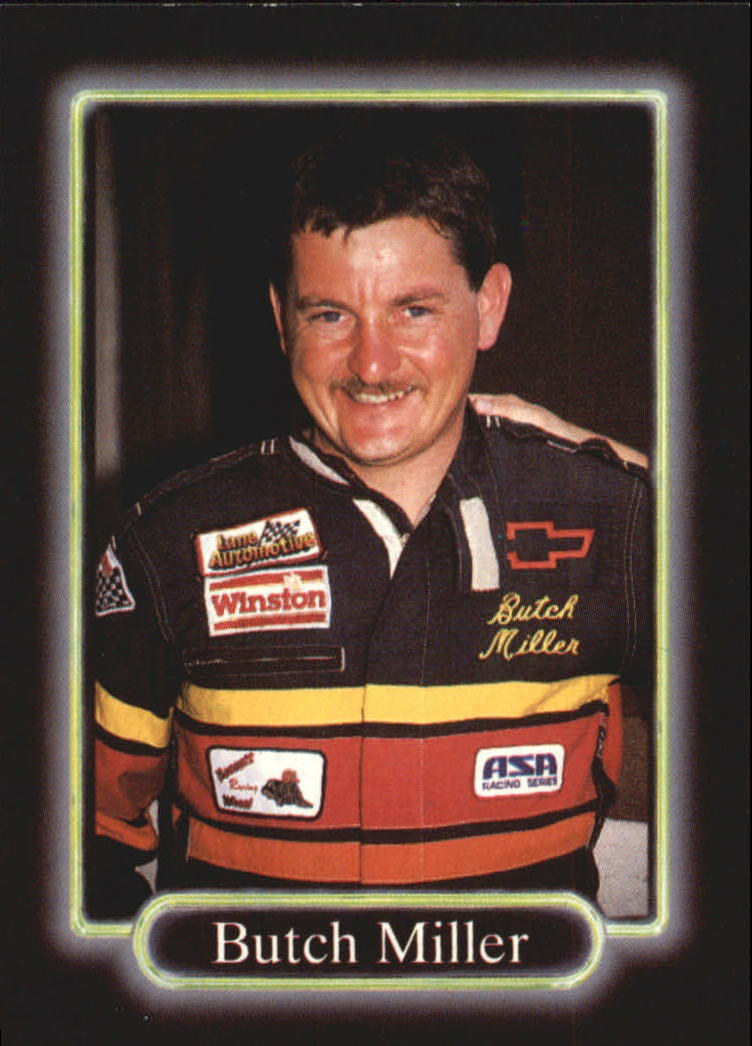 1990 Maxx #98 Butch Miller RC