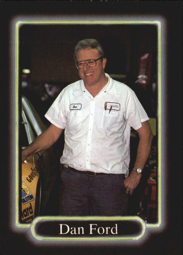 1990 Maxx #101 Dan Ford RC