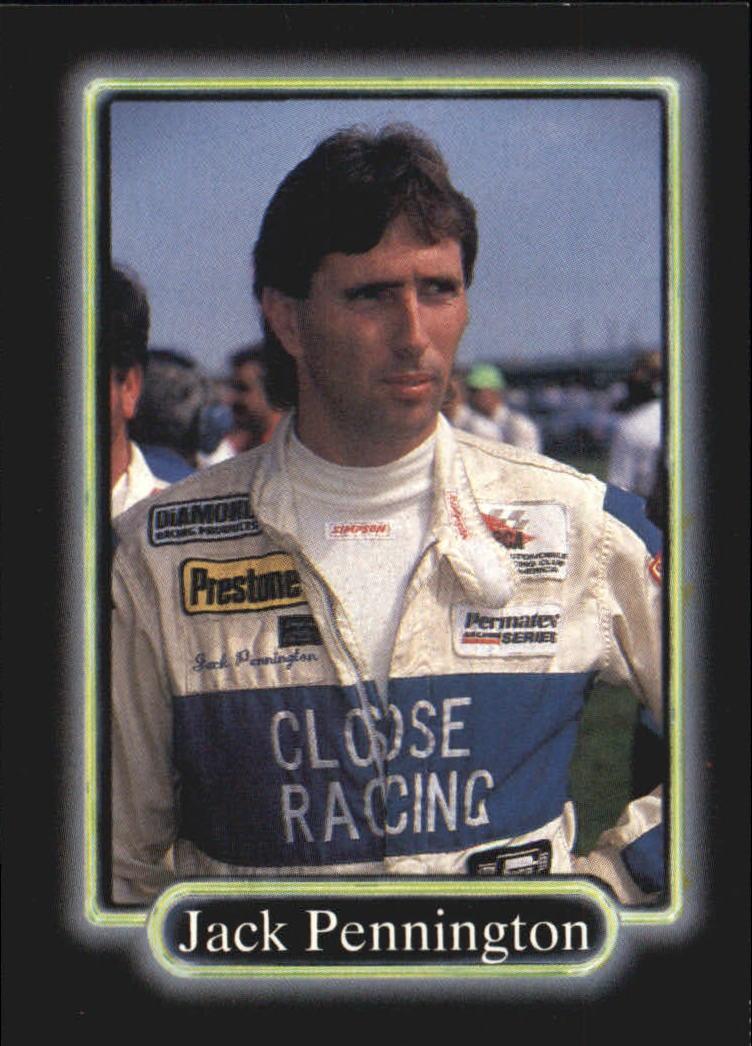 1990 Maxx #134 Jack Pennington RC