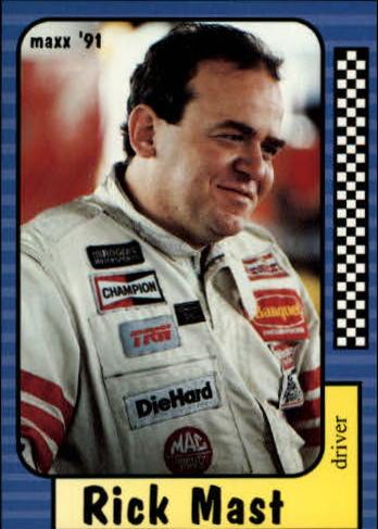 1991 Maxx #1 Rick Mast