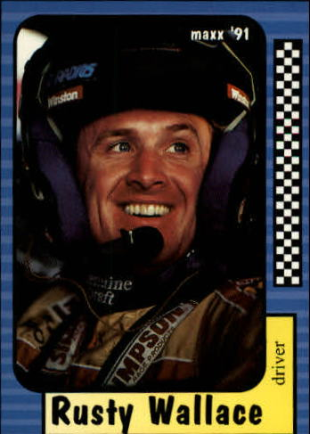 1991 Maxx #2 Rusty Wallace