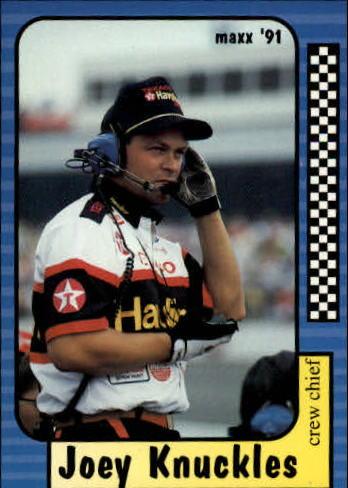 1991 Maxx #16 Joey Knuckles RC