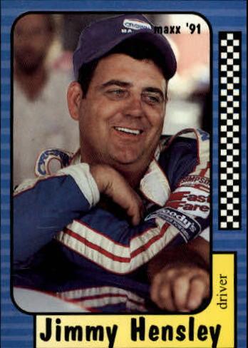 1991 Maxx #20 Jimmy Hensley