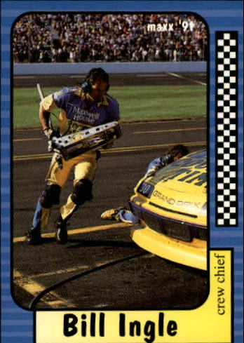 1991 Maxx #56 Bill Ingle RC