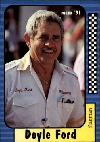 1991 Maxx #104 Doyle Ford RC