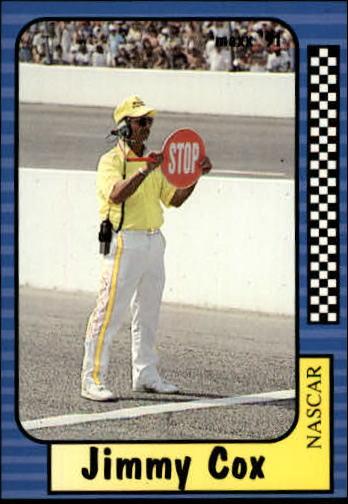 1991 Maxx #107 Jimmy Cox RC