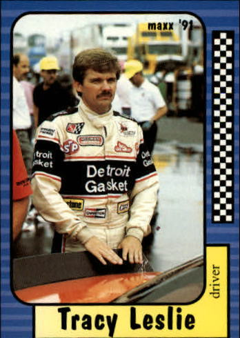 1991 Maxx #116 Tracy Leslie RC