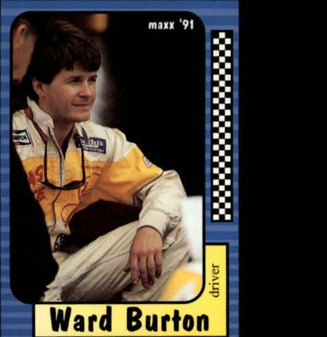 1991 Maxx #123 Ward Burton RC