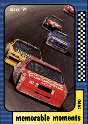 1991 Maxx #127 Michael Waltrip's Car/Derrike Cope's Car/Memorable Moments
