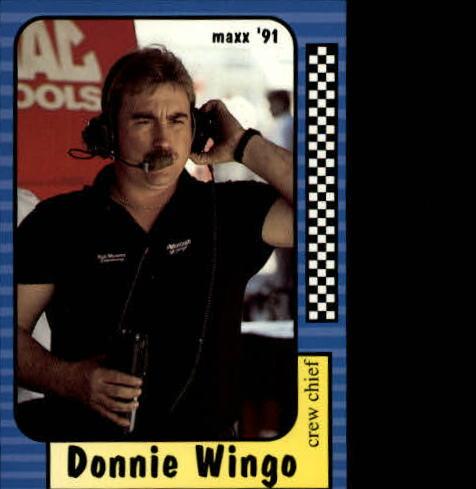 1991 Maxx #128 Donnie Wingo RC