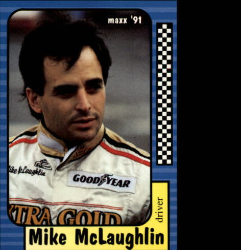 1991 Maxx #130 Mike McLaughlin RC