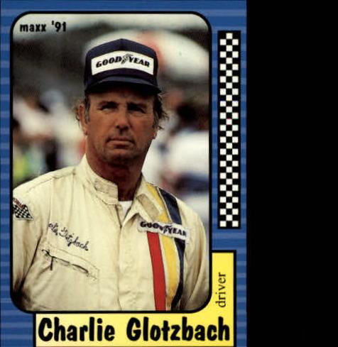 1991 Maxx #132 Charlie Glotzbach RC