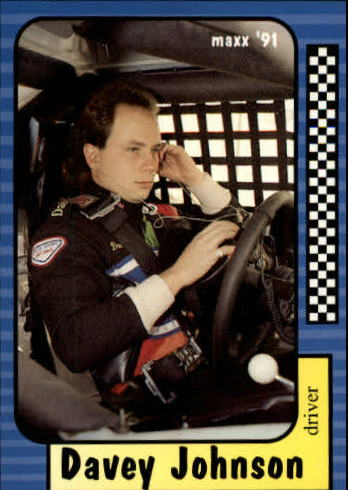 1991 Maxx #134 Davey Johnson RC