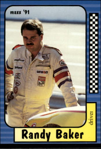 1991 Maxx #154 Randy Baker RC