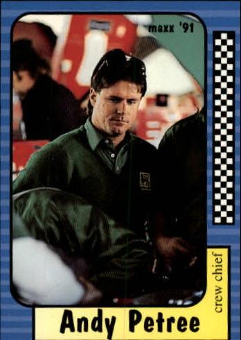 1991 Maxx #160 Andy Petree RC
