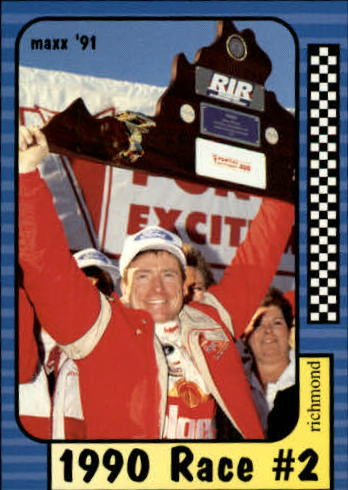 1991 Maxx #171 Mark Martin/Year in Review